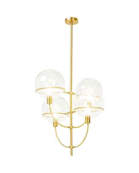 Люстра Lantern 4rs Brass