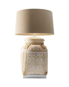 Настольная лампа Basket Cream