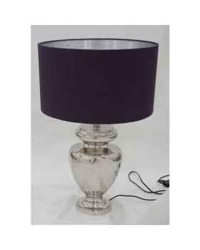 Настольная лампа Barock Silver Purple
