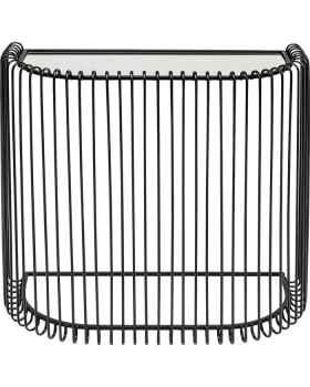 Консольный столик Wire Black 80x80cm