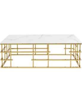 Кофейный столик Rome Gold 130x70cm