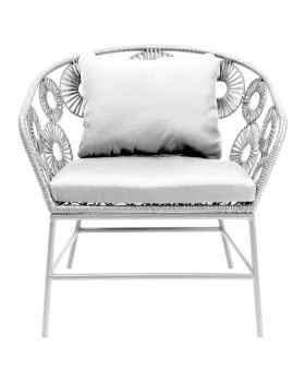 Кресло Ibiza White