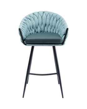 Барный стул Knot Bluegreen