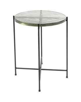 Приставной столик Ice Black Ø40cm
