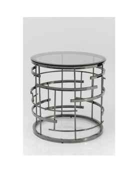 Приставной столик Jupiter Silver Ø55cm