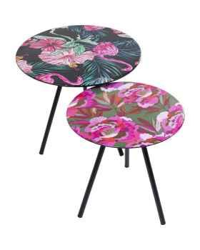 Приставной столик Flamingo Flower (2/Set)