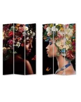 Ширма Flowery Shoulder vs Bunch Flowers 120x180cm