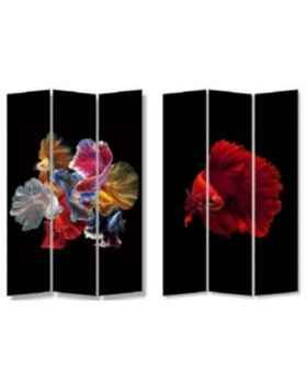 Ширма Colorful Fish vs Fire Fish 120x180cm