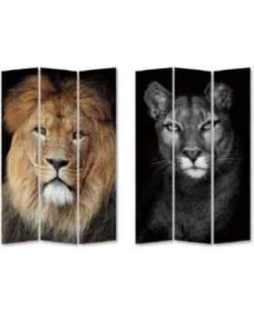 Ширма King Lion vs Cat Girl 120x180cm