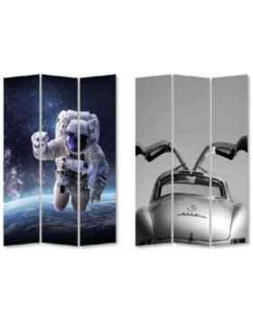 Ширма Triptychon Man vs Oldtimer 120x180cm