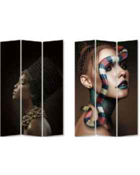 Ширма Royal Headdress vs Snake Girl 120x180