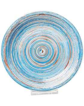 Тарелка Swirl Blue Ø27cm
