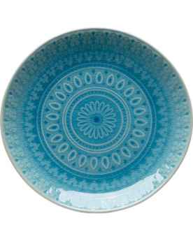 Тарелка Sicilia Blue Ø21