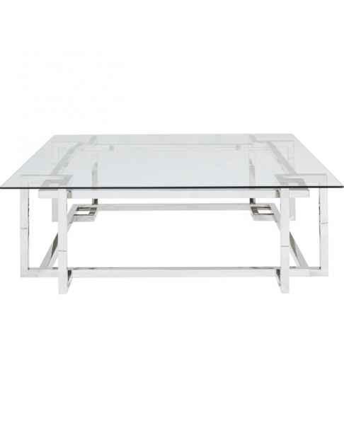 Кофейный столик Clara Silver 120x120cm