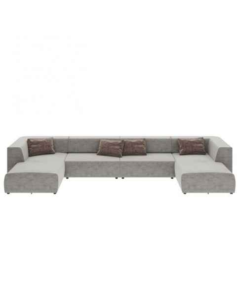 Угловой диван Infinity Malibu Grey