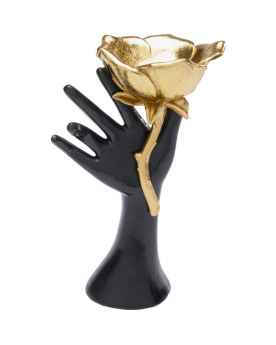 Деко обьект Hand Rose 22cm