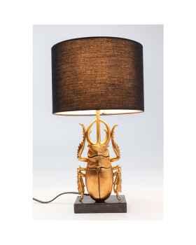 Настольная лампа Animal Beetle Gold 42cm