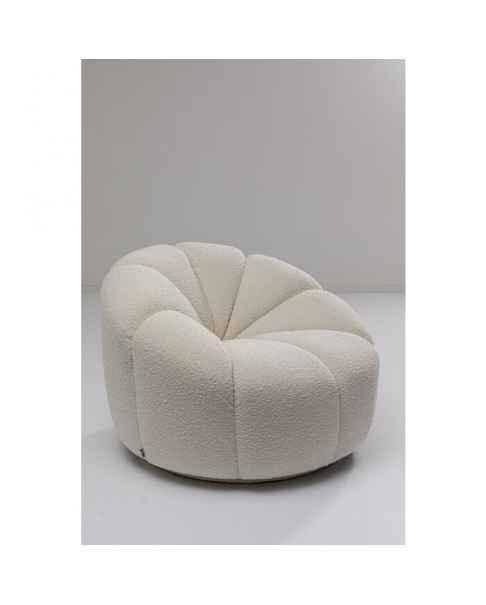 Вращающееся кресло Peppo Lounge White