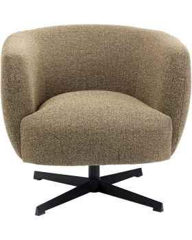 Вращающееся кресло Ricky Beige