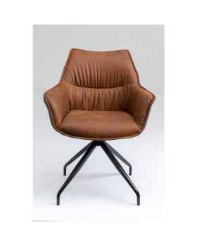 Вращающееся кресло Mally Brown