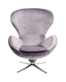 Вращающееся кресло Lounge Leaf Grey