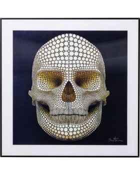 Картина 3D Skull 60x60cm