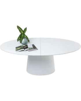 Раздвижной стол Benvenuto White 200 (50)x110cm