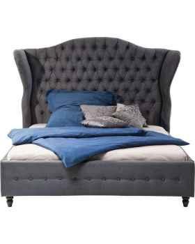 Кровать City Spirit Dark Grey 160x200cm
