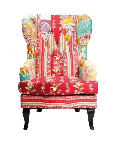 Кресло Patchwork Red