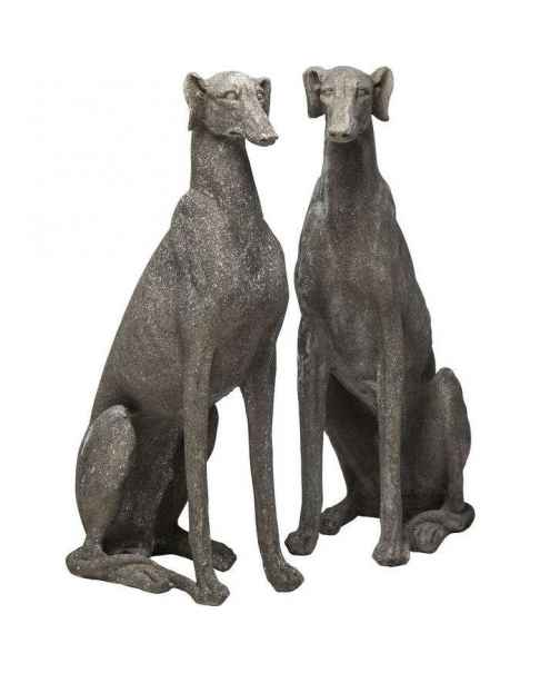 Деко фигура Greyhound Grey Assorted