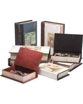 Шкатулка Book Box City Postcards (2/Set) Assorted