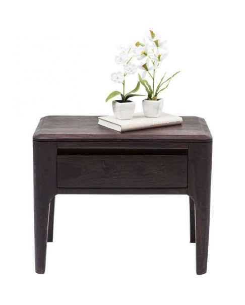 Прикроватный столик Brooklyn Walnut 30x50cm