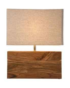 Настольная лампа Rectangluar Wood Nature