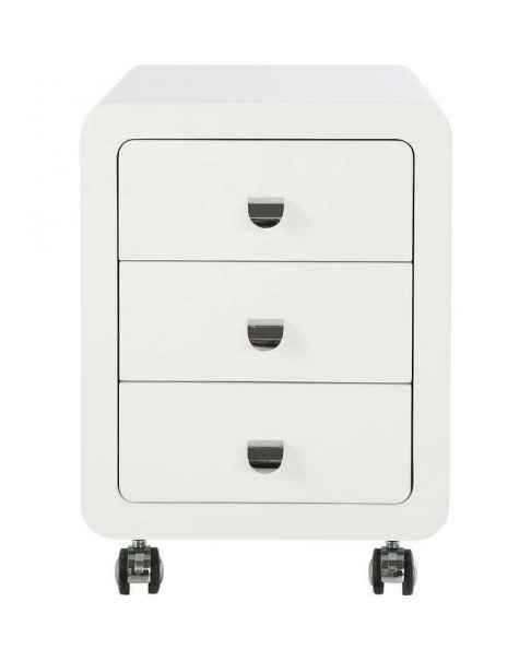 Тумба White Club Storage Container 3 Drawers