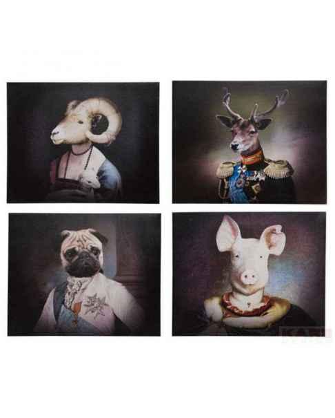 Картина Nobility Animals 40x50cm Assorted