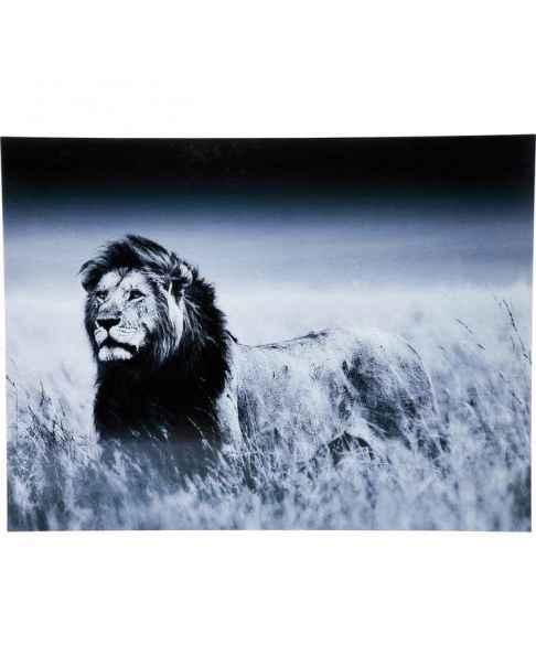 Картина на стекле Lion King Standing 120x160cm