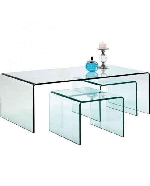 Кофейный столик Clear Club (3/Set)