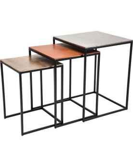 Столик Loft Square Vintage (3/Set)