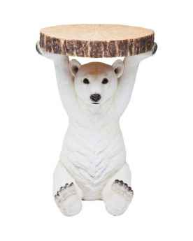 Столик Animal Polar Bear Ø37cm