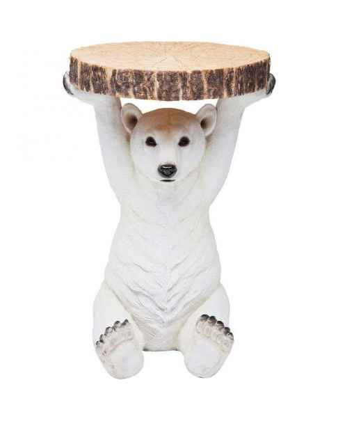 Столик Animal Polar Bear Ø37cm