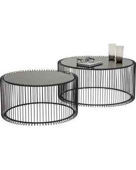 Кофейный столик Wire Black (2/Set)