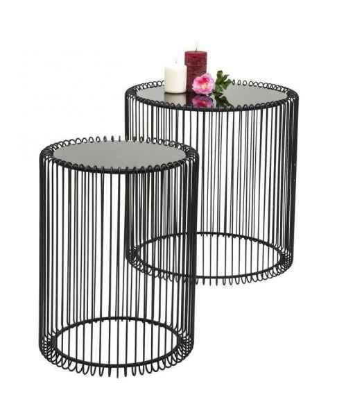 Столик Wire Black (2/Set)
