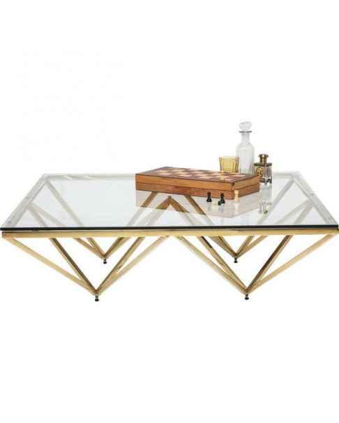 Кофейный столик Network Gold 105x105cm