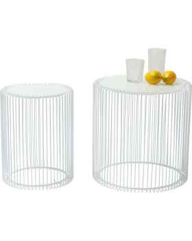Столик Wire White (2/Set)