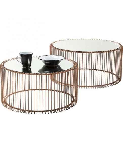 Кофейный столик Wire Copper (2/Set)