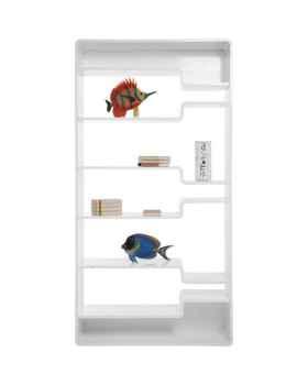 Стеллаж Soft Shelf White 220x110 cm