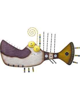 Настенный декор Piranha 80cm