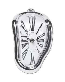 Настольные часы Flow Silver