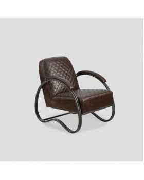 Кожаное кресло Dialma Brown DB005991