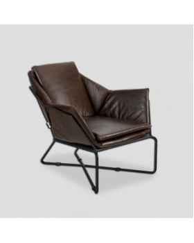 Кожаное кресло Dialma Brown DB006015